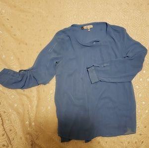 JL baby blue blouse